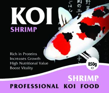 Koi Food...KOI Shrimp...Quality Koi & Pond Fish Food